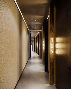 Luxury Interior, Interior Design, Luminaire Design, Warm Colors, Ideas Para, Minimalism, Door Handles, Stairs, Warsaw Poland