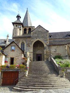'église Saint Fleuret d'Estaing  Aveyron