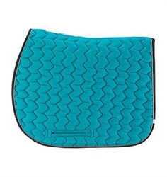 Lettia Coolmax ICE Pad  Lettia CoolMax® ICE Saddle Pads features bright exciting  colors, an innovative slit for a neater appearance while keeping your pad in place, and CoolMax® lining for your horse's comfort.  This ICE pad is lined with patented CoolMax® technology to keep your equine athlete cool. The vibrant colors are sure to add a little excitement to your barn life.  www.greenhawk.com