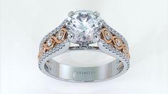 Image 3D model render rings. #jewelry #diamonds #luxury