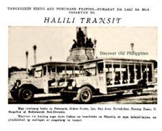 Advertisement of Halili Transit  Image source: Rizal Province Directory (1934)