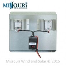 200 Amp Charge Controller with Digital LED Volt Meter for Wind Turbines and Solar Panels