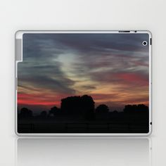 Painted Sunrise by Nature  Laptop & iPad Skin by Angelika Kimmig - $25.00