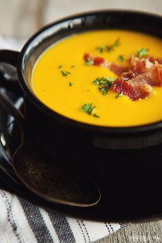 Yellow Cab's Squash Soup #soup #squash #food #snacks #flamous