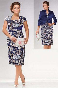Костюмы для полных девушек и женщин белорусской компании Lady Line. Осень-зима 2014-2015 Stylish Outfits For Women Over 50, Over 50 Womens Fashion, Clothes For Women, Dress Suits, I Dress, Apple Shape Fashion, Casual Dresses, Fashion Dresses, Executive Fashion