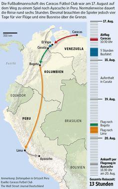 Zwischen internationalen Fluggesellschaften und der Regierung Venezuelas tobt ein Streit wegen Verkehrskontrollen. Deswegen haben die Airlines seit Januar ihre Flüge in das südamerikanische Land um rund die Hälfte reduziert. Für die Venezolaner ein weiteres Ärgernis in ihrem Alltagsleben.