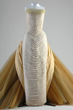 Beyond stunning Charles James gown, 1954.