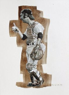 #15 Thurman Munson NOAH'S ART