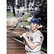 Buy Diamond Decor Wall Art Mickey Mantle The Mick Artwork Canvas 12 x 16 in. (DV2035CS) at Staples' low price, or read customer reviews to learn more.  #buyartforless