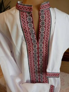 Ukrainian embroidery for man