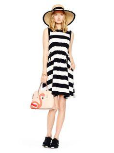 kate spade yarn dyed stripe dress £195