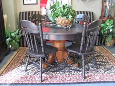Dinette Table (now with four chairs) $129.00. There are a few issues with the table, including some delamination on top. - Consign It! Consignment Furniture