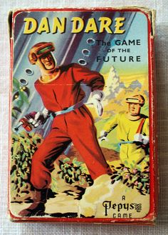 Dan Dare Card Game by Artist Frank Hampson He Man Thundercats, Baby Boomer, Game Themes, Comics Story, Alien Creatures, Art And Craft Design, Games To Buy, A Level Art, Old Games