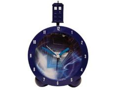 Alarm Clock. I would like to be woken up by the sounds of the TARDIS every day... I would then be disappointed that The Doctor wasn't actually there :(