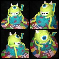 Monsters inc cake www.facebook.com/kirstiescakesuk