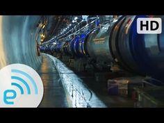 CERN: Undergound Large Hadron Collider Engadget - Smashpipe News Video Large Hadron Collider, Secrets Of The Universe, Dark Matter, Advertising, Science, Youtube, Army, News, Purple