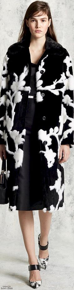 Trending Fall 2016 - Hand Pieced Furs (image features: Michael Kors Collection Pre-Fall 2016)