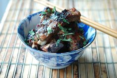 Black Bean Spare Ribs with Green Onion