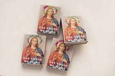 Let there be light tändsticksaskar av Beata på Radar Magazine Be Light, Let It Be, Magazine, Magazines