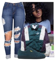 """""""Untitled #208"""" by heavensincere ❤ liked on Polyvore featuring NIKE and Puma"""