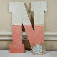 Monogram Letters, Custom Letters, Nursery Decoration, Custom Wood Letters, Office Decoration, Kids Room Decor, Custom Lettering, Monograms,