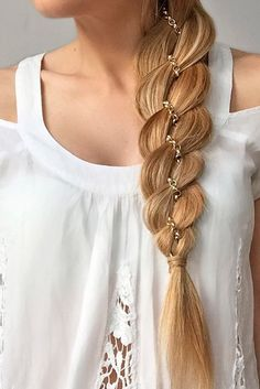 Unbelievably Beautiful Braid Hairstyles for Christmas Party ★ See more: http://lovehairstyles.com/braid-hairstyles-christmas-party/