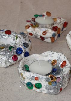 Diwali candles for kids - another fun version!