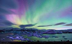 Das-Eishotel-in-Lappland_Wunderschöne-Polarlichter-von-Moyan_Brenn. Lappland, Aurora Borealis, Best Places To Travel, Places To See, Places Around The World, Around The Worlds, Polar Night, Magical Pictures, Beautiful Pictures