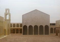"""...e se qualcuno avesse commissionato al pittore Giorgio De Chirico, negli anni '20/'30 del secolo scorso, non solo l'ennesima """"Piazza d'Italia"""" ma addirittura la progettazione di un intero nuovo paese, basato sulle geometrie e sulle suggestioni dei su..."""
