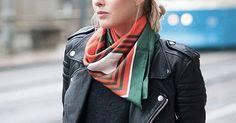 How to Wear a Silk Scarf   Fashion   Purewow