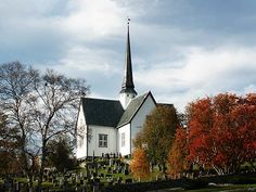 The Oppdal church was built from timber in 1651.