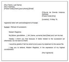 Government Official Letter Sample  httpexampleresumecv