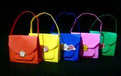 Origami Maniacs 202: Origami Handbag/ Carterita de Origami