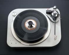 The Spiral Groove turntable  (Credit: Spiral Groove)