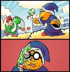 OH GOD! WHY YOSHI WHY?