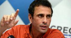 ¡ALERTA!  Capriles llamó a desobedecer convocatoria de Constituyente de Maduro