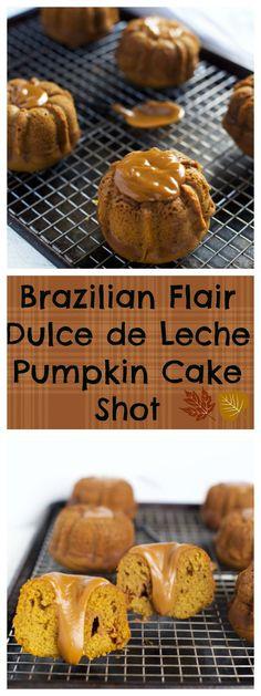 BRAZILIAN FLAIR DULCE DE LECHE PUMPKIN BUNDT CAKE SHOT