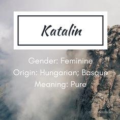 Katalin - girl's name