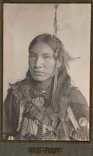 Record Kills First, Sioux Indian | Collections Search Center, Smithsonian Institution