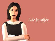 ~*~*~*~ (Four female hairs Simgarooped: Ade-Darma Jennifer,...)