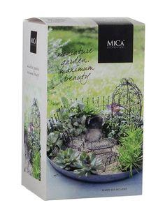Mica Decorations Miniature Garden -puutarhakalustesetti | Puutarhakoristeet | Stockmann.com