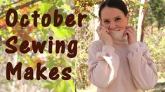 This video is all about October Sewing makes and packed with free sewing patterns, tutorials and other goodies! Sewing Patterns Free, Free Sewing, Pink Cardigan, Pants Pattern, October, Youtube, How To Make, Instagram, Crafty