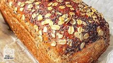 Low carb recipe for a delicious chia protein bread. Low in carbohydrates and easy to re-cook. Low carb recipe for a delicious chia protein bread. Low in carbohydrates and easy to re-cook. Protein Bread, Protein Cake, Low Carb Bread, Low Carb Keto, Low Carb Recipes, Bread Recipes, Protein Desserts, Protein Foods, Protein Recipes