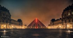 The Louvre in the early morning II° by Vittorio Delli Ponti on 500px