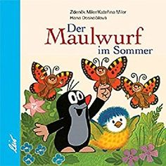 Der Maulwurf im Sommer Hana, Illustrator, Book Illustration, Childrens Books, Comics, Fictional Characters, Products, Box, Summer Books