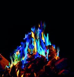 Mystical Fire gekleurde vlammen