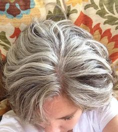 1000+ images about frosting hair on Pinterest | Gray hair, Short ...