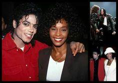 MJ & Whitney Houston ♥