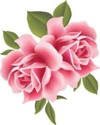 Image Result For Single Pink Rose Clipart Clipart De Flores Arte Flor Flores Pintadas
