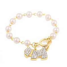 Korean Style Individual Cute Puppy Bracelets for wholesalejewellery|Wholesale Price USD $1.75 #wholesalejewellery #womenbracelet By www.clubwholesale.net